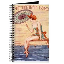 Pontchartrain Beach Poster 2 Journal