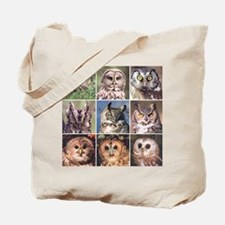Funny Laughing owl Tote Bag