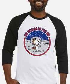 Peanuts No Dream Is Too Big Baseball Jersey
