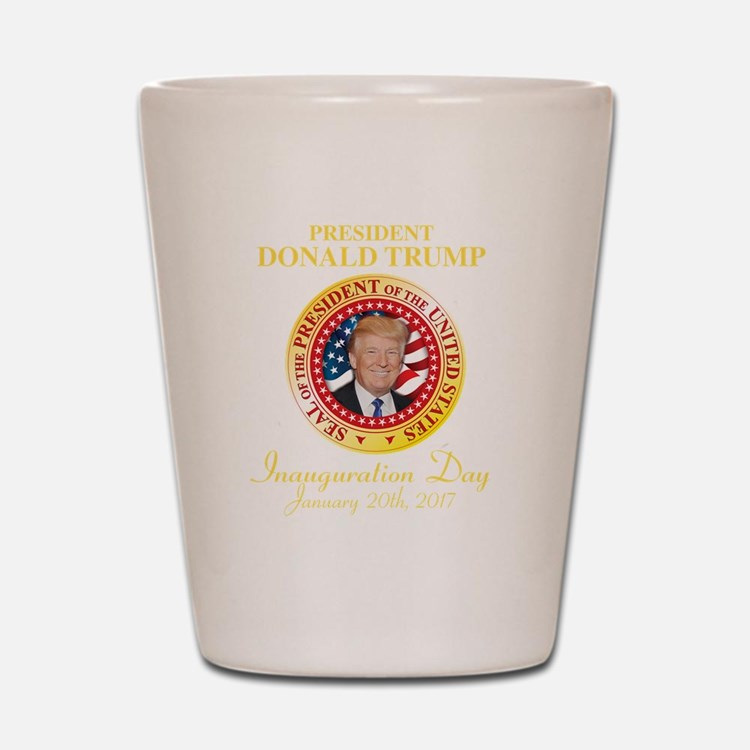 Cute Inauguration day Shot Glass