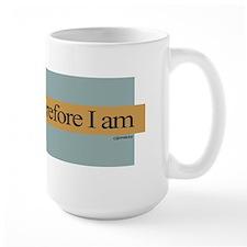 I run, therefore I am Mug