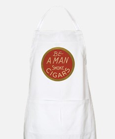 Be a Man Vintage Cigar Ad BBQ Apron