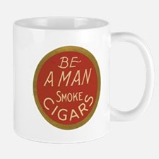 Be a Man Vintage Cigar Ad Mug