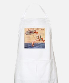 Jersey Shore Poster BBQ Apron