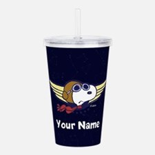 Snoopy Ace Personalize Acrylic Double-wall Tumbler