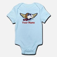 Snoopy Ace Personalized Infant Bodysuit