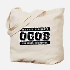 Old Guys Old Boats Tote Bag