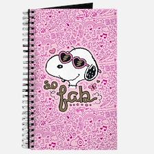 Peanuts So Fab Journal