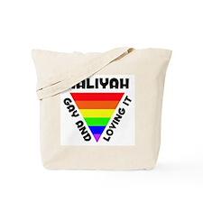 Aaliyah Gay Pride (#006) Tote Bag