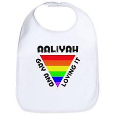 Aaliyah Gay Pride (#006) Bib
