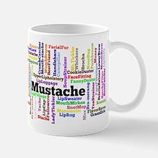 Mustache Names Mugs