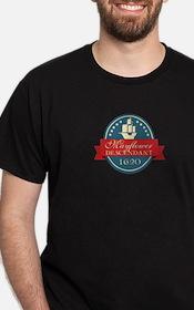 Mayflower Descendant Emblem T-Shirt