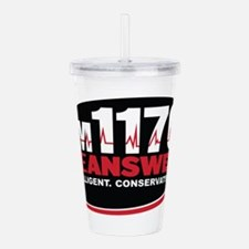 AM 1170 The Answer KCBQ logo Acrylic Double-wall T