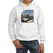 San Diego Sailboats in the City Hoodie