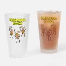 PreSchool Rocks Drinking Glass