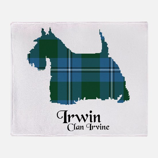 Terrier-Irwin.Irvine Throw Blanket