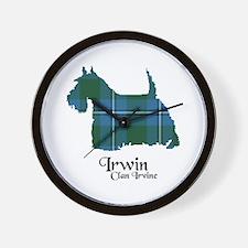 Terrier-Irwin.Irvine Wall Clock