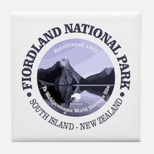 Fiordland NP Tile Coaster