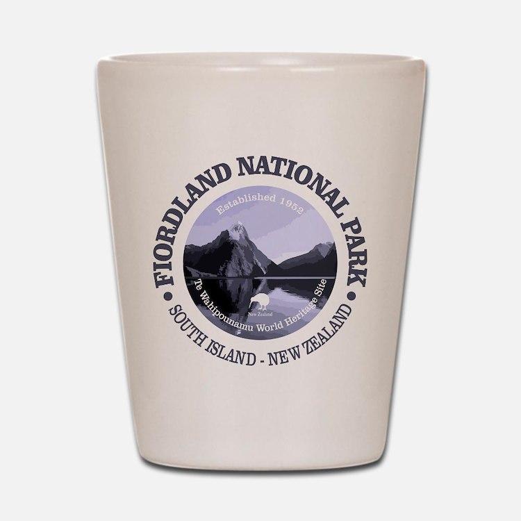 Fiordland NP Shot Glass