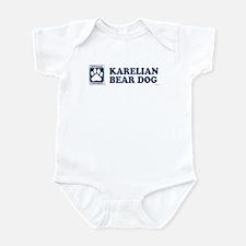 KARELIAN BEAR DOG Infant Bodysuit