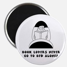 Book Lovers Bed-Male<br> Magnet