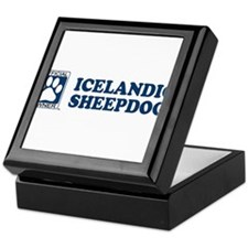 ICELANDIC SHEEPDOG Tile Box