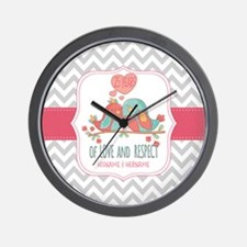 Create Personalized Anniversary Wall Clock