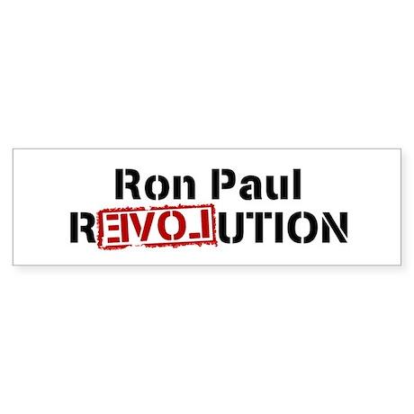 RON PAUL bumpersticker
