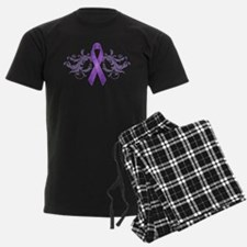 PurpleRibbonDark Pajamas