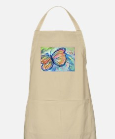 Butterfly, nature art! Apron