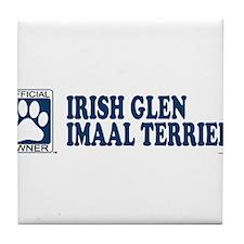 IRISH GLEN IMAAL TERRIER Tile Coaster