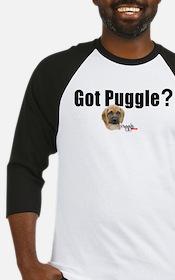 Got Puggle (white) Baseball Jersey