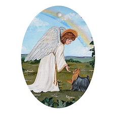 Yorkshire Terrier Keepsake (Oval)