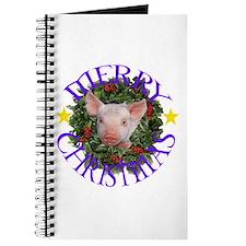Cute Happy pig Journal