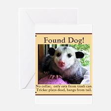 Found Dog Greeting Cards