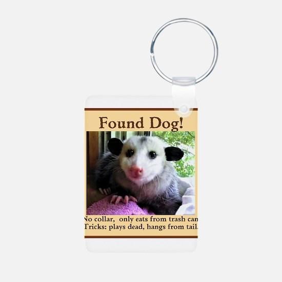 Found Dog Keychains