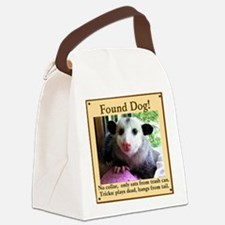 Found Dog Canvas Lunch Bag