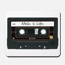 Music is Life. Mousepad