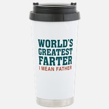 Funny Happy father%27s day Travel Mug