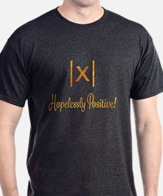 Hopelessly Positive Optimist Math Geek T-Shirt