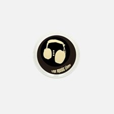 """""""The Music Lives"""" Mini Button (10 pack)"""