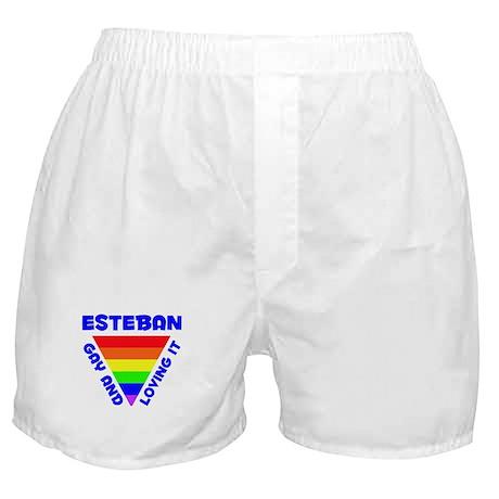 Esteban Gay Pride (#005) Boxer Shorts