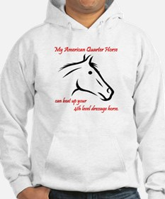 My American Quarter Horsecan ... Fitted Hoodie Swe