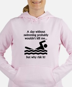 A Day Without Swimming Jumper Sweatshirt