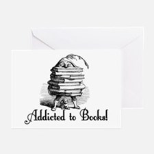 Addicted to Books! Greeting Cards (Pk of 10)