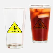 Falls Alert Warning Drinking Glass