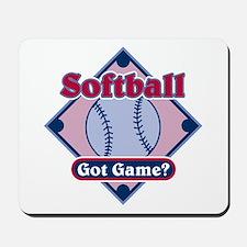 Softball Got Game? Mousepad