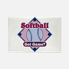 Softball Got Game? Rectangle Magnet