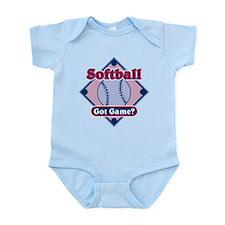 Softball Got Game? Infant Bodysuit