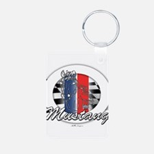 Horse Mustang Keychains
